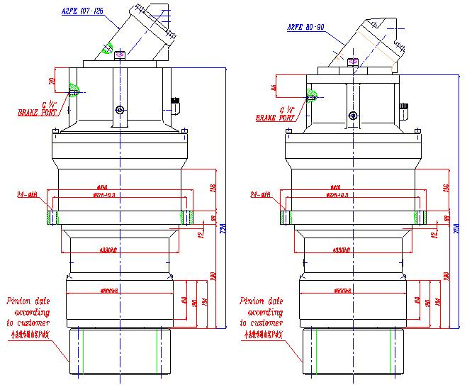 Planetary Gearbox Planet Gear Speed Reducers ep710bs