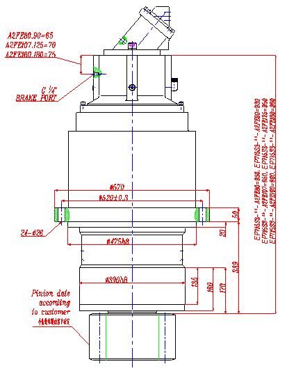Planetary Gearbox Planet Gear Speed Reducers ep715s3
