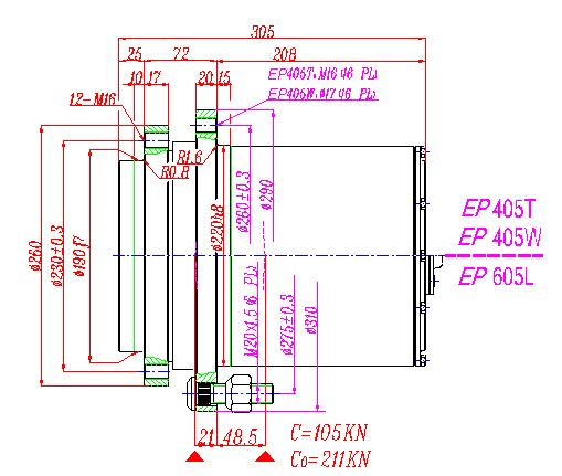 Planetary Gearbox Planet Gear Speed Reducers pg5