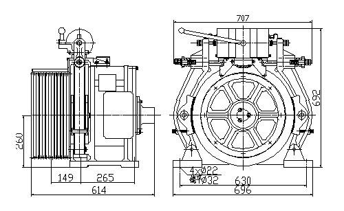 Рэдказямельныя рухавікі з пастаянным магнітам (REPM MOTORS), YTW2-260GF